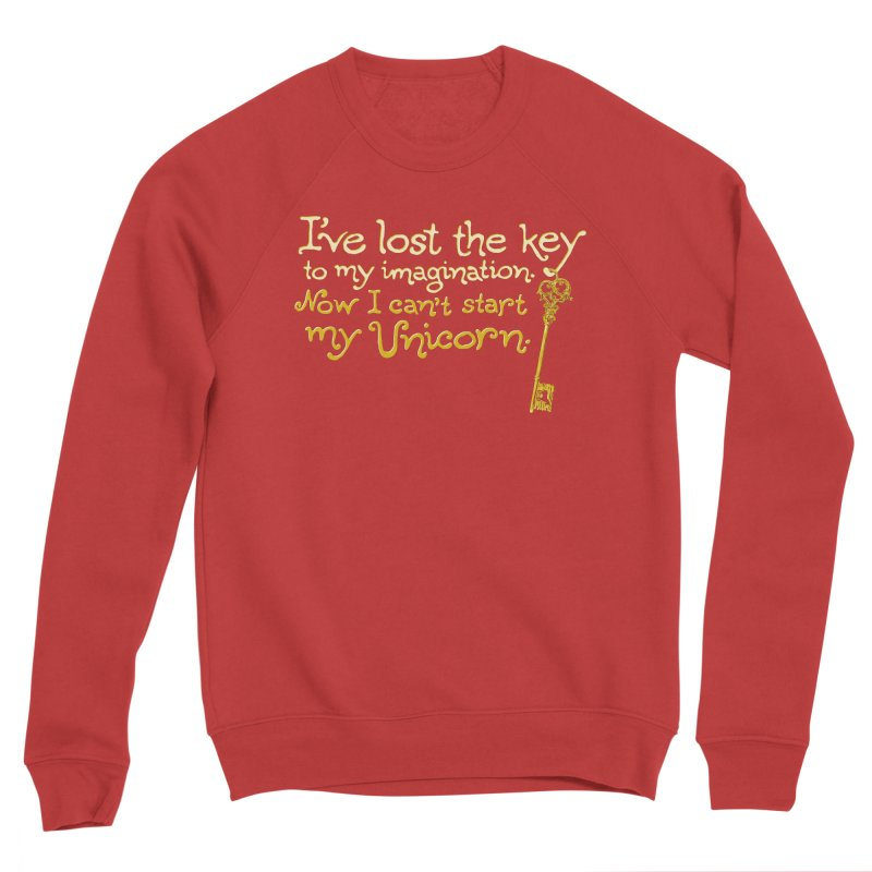 I've Lost The Key Men's Sponge Fleece Sweatshirt by Made With Awesome