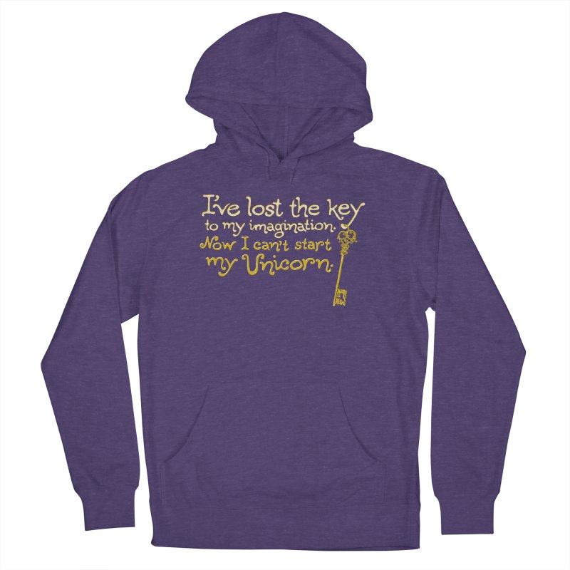 I've Lost The Key Men's French Terry Pullover Hoody by Made With Awesome