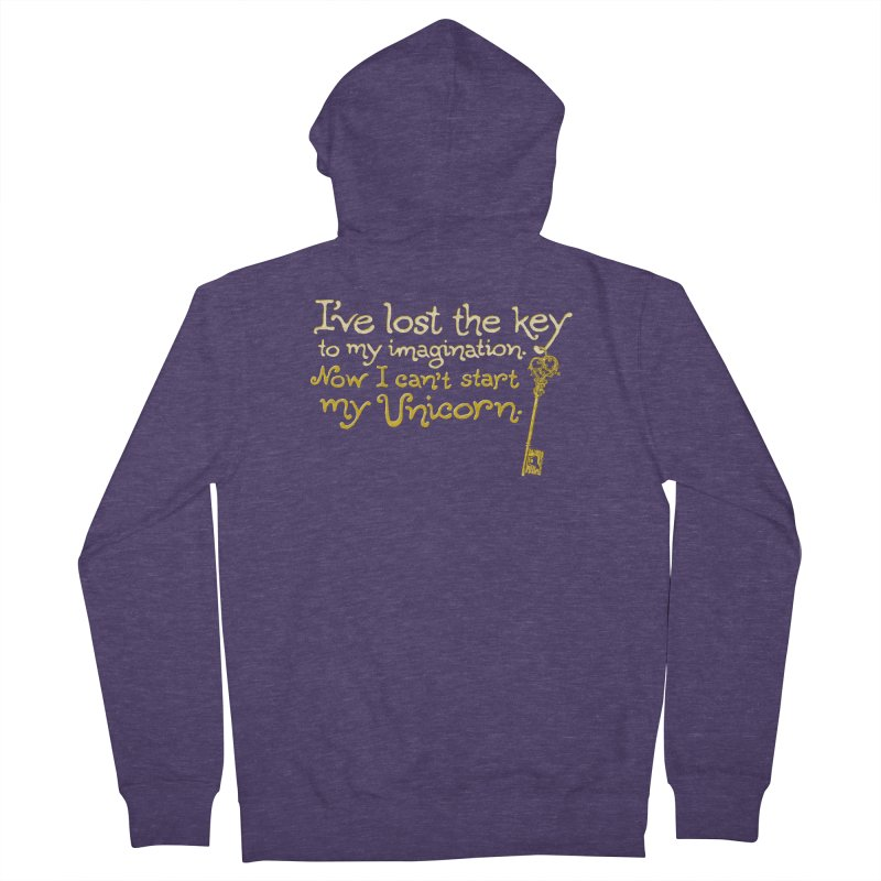 I've Lost The Key Men's French Terry Zip-Up Hoody by Made With Awesome