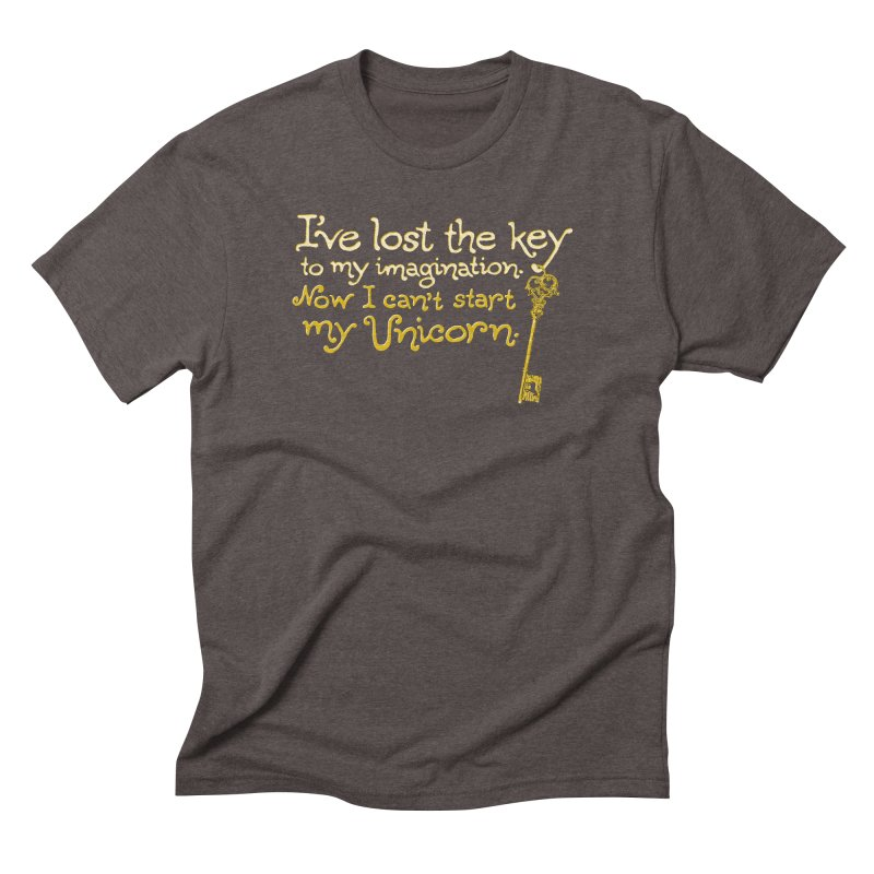 I've Lost The Key Men's Triblend T-Shirt by Made With Awesome