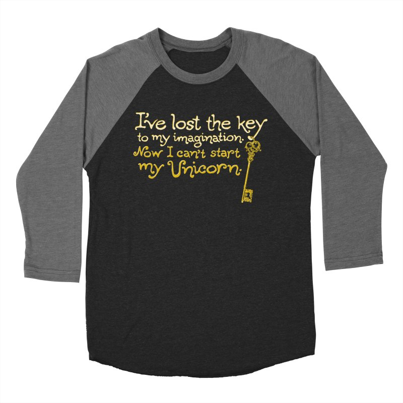 I've Lost The Key Women's Baseball Triblend Longsleeve T-Shirt by Made With Awesome