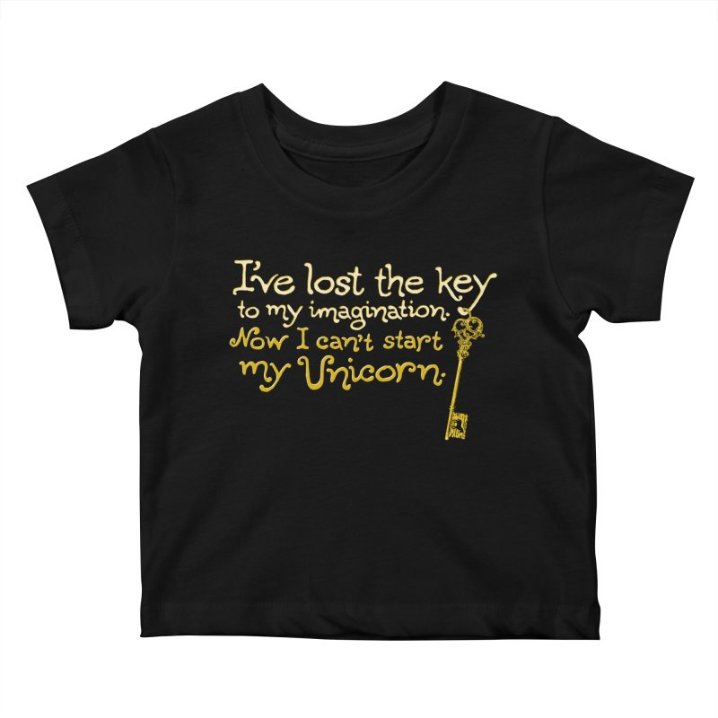 I've Lost The Key Kids Baby T-Shirt by Made With Awesome