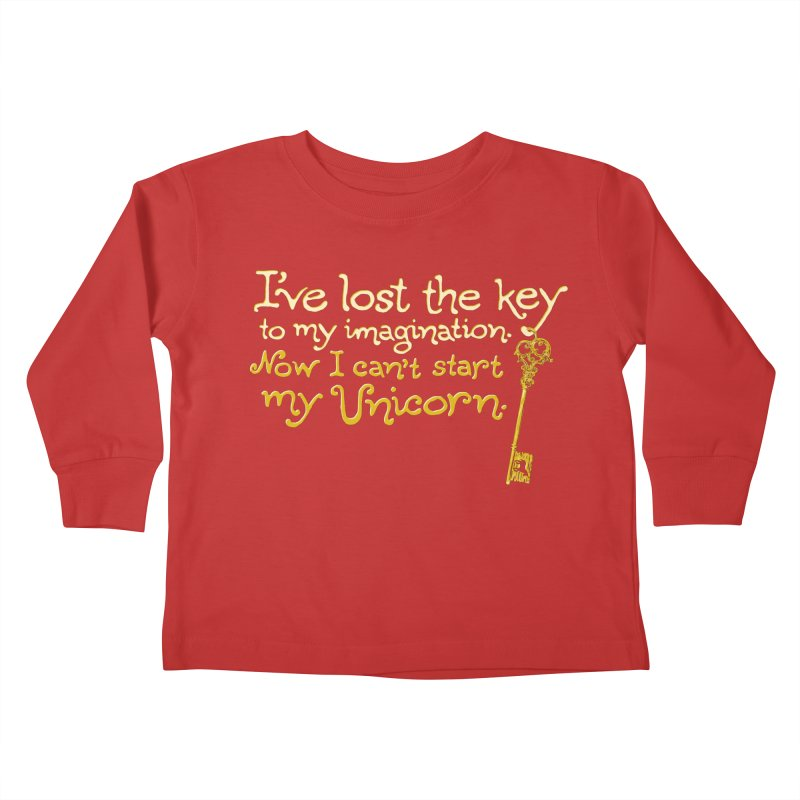 I've Lost The Key Kids Toddler Longsleeve T-Shirt by Made With Awesome