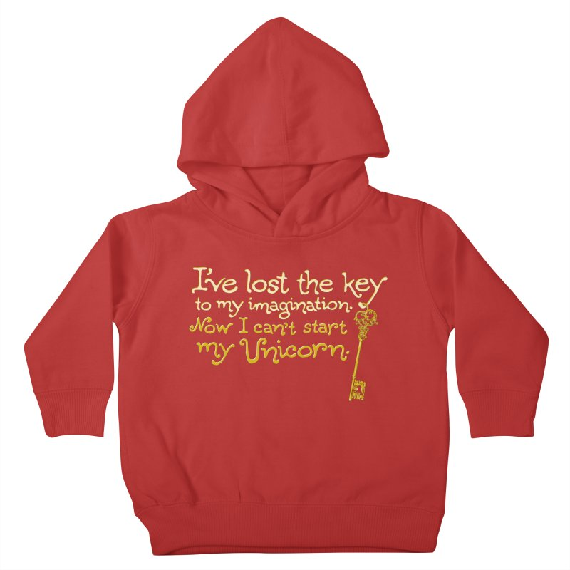 I've Lost The Key Kids Toddler Pullover Hoody by Made With Awesome