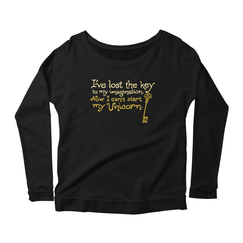 I've Lost The Key Women's Scoop Neck Longsleeve T-Shirt by Made With Awesome