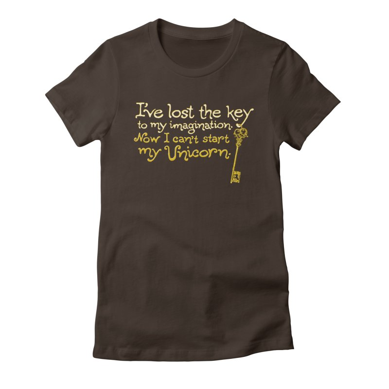 I've Lost The Key Women's Fitted T-Shirt by Made With Awesome
