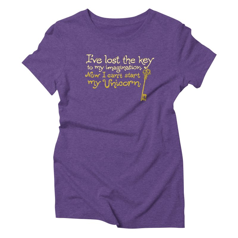 I've Lost The Key Women's Triblend T-Shirt by Made With Awesome