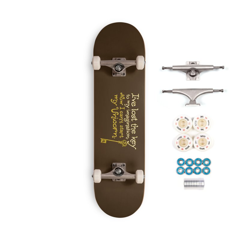I've Lost The Key Accessories Complete - Premium Skateboard by Made With Awesome