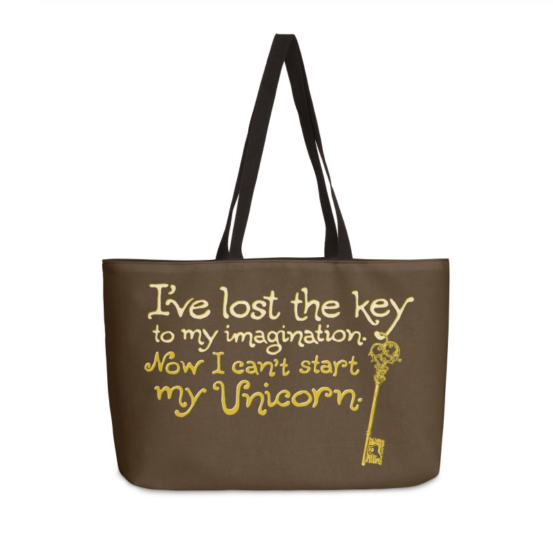 I've Lost The Key Accessories Weekender Bag Bag by Made With Awesome