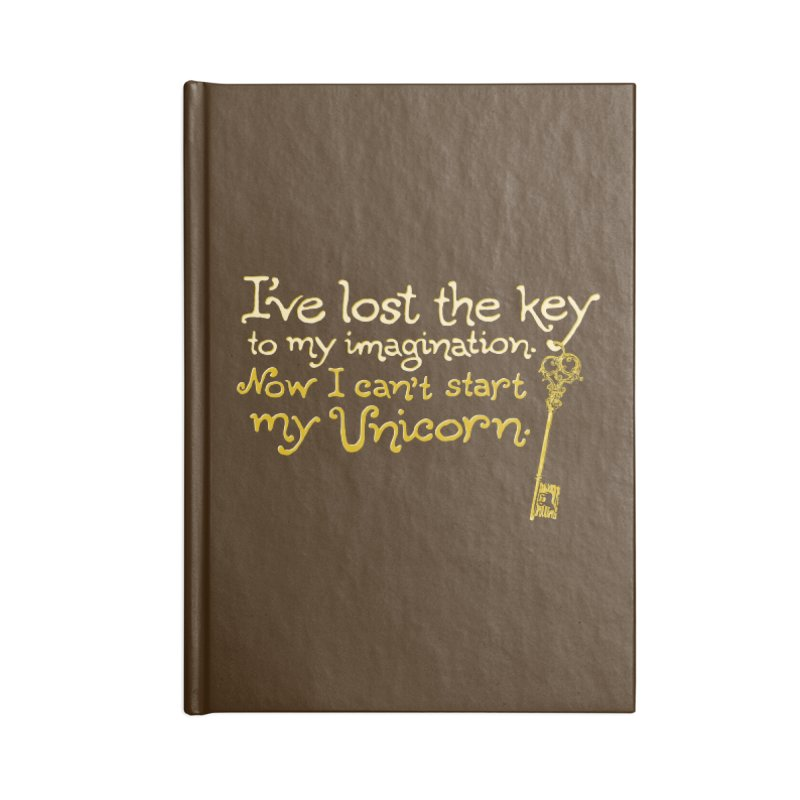 I've Lost The Key Accessories Lined Journal Notebook by Made With Awesome
