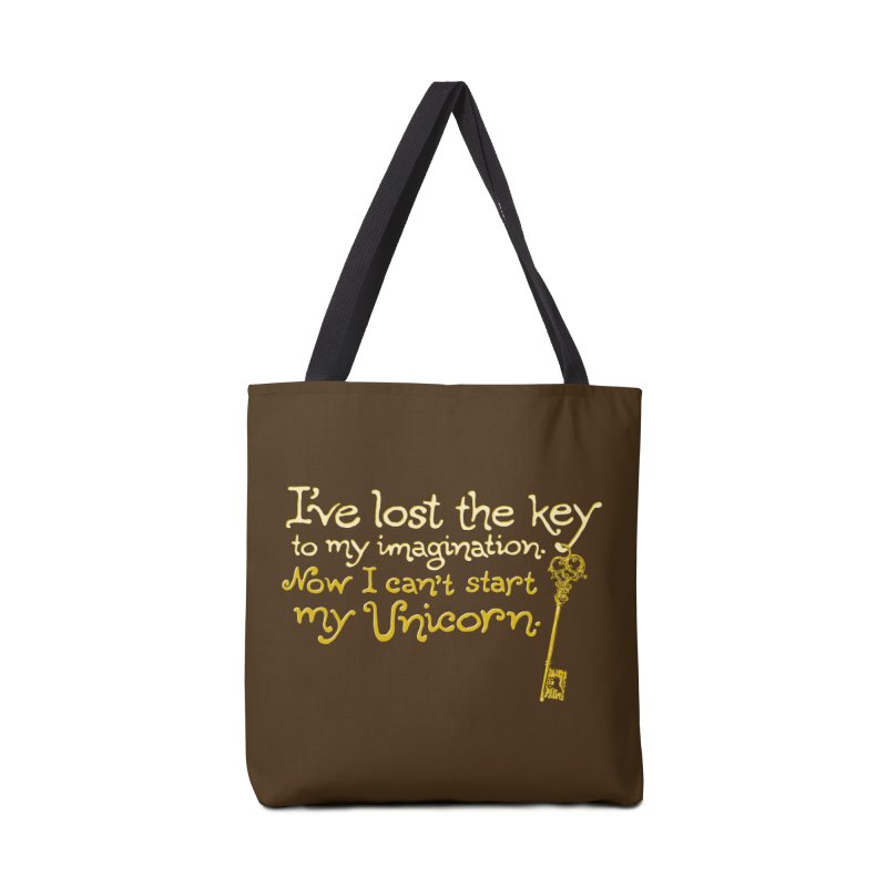 I've Lost The Key Accessories Tote Bag Bag by Made With Awesome
