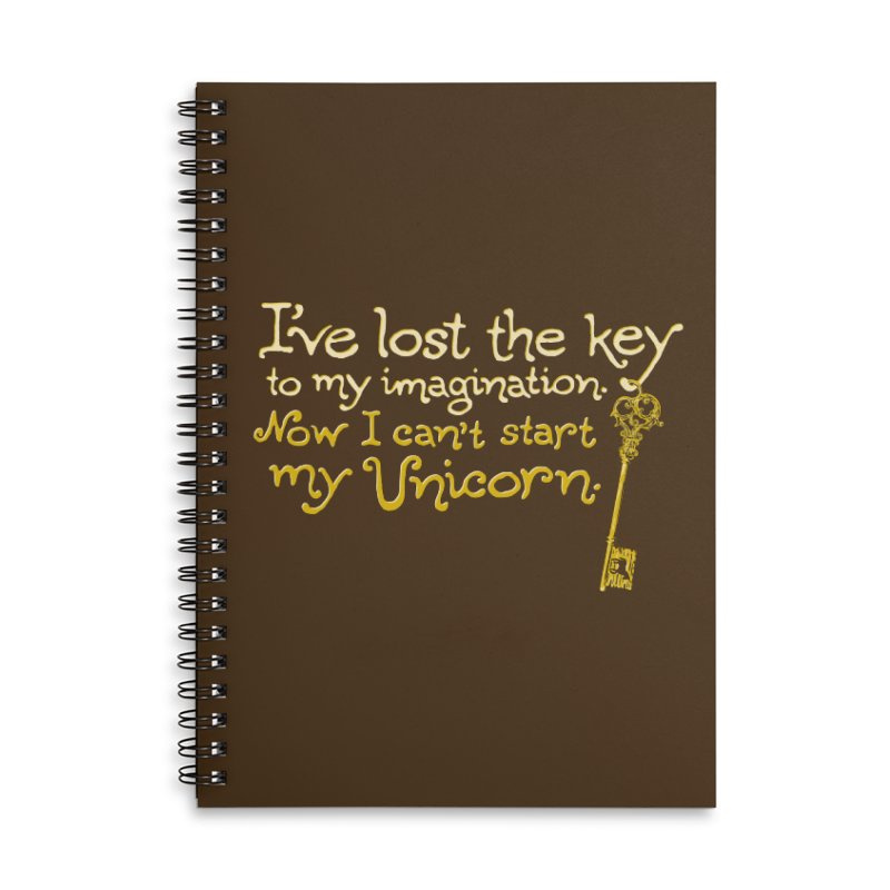 I've Lost The Key Accessories Lined Spiral Notebook by Made With Awesome