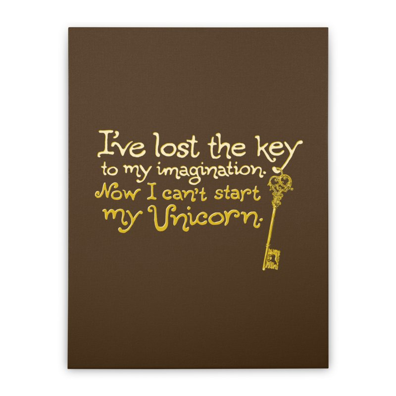 I've Lost The Key Home Stretched Canvas by Made With Awesome