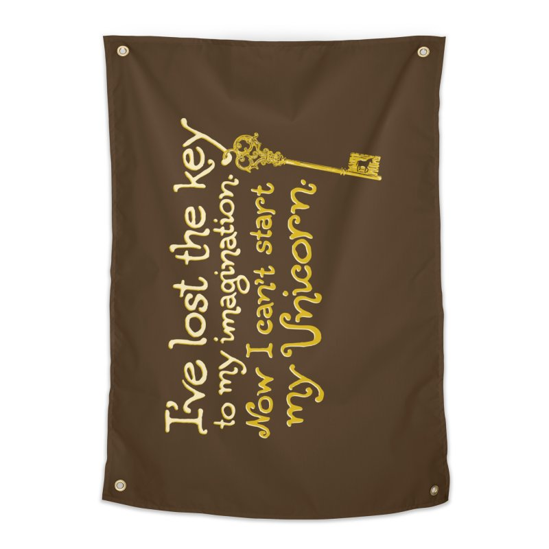 I've Lost The Key Home Tapestry by Made With Awesome