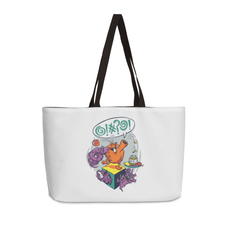 Quit Your Cussing! Accessories Weekender Bag Bag by Made With Awesome