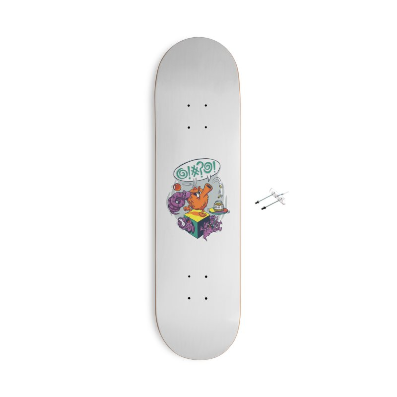Quit Your Cussing! Accessories With Hanging Hardware Skateboard by Made With Awesome