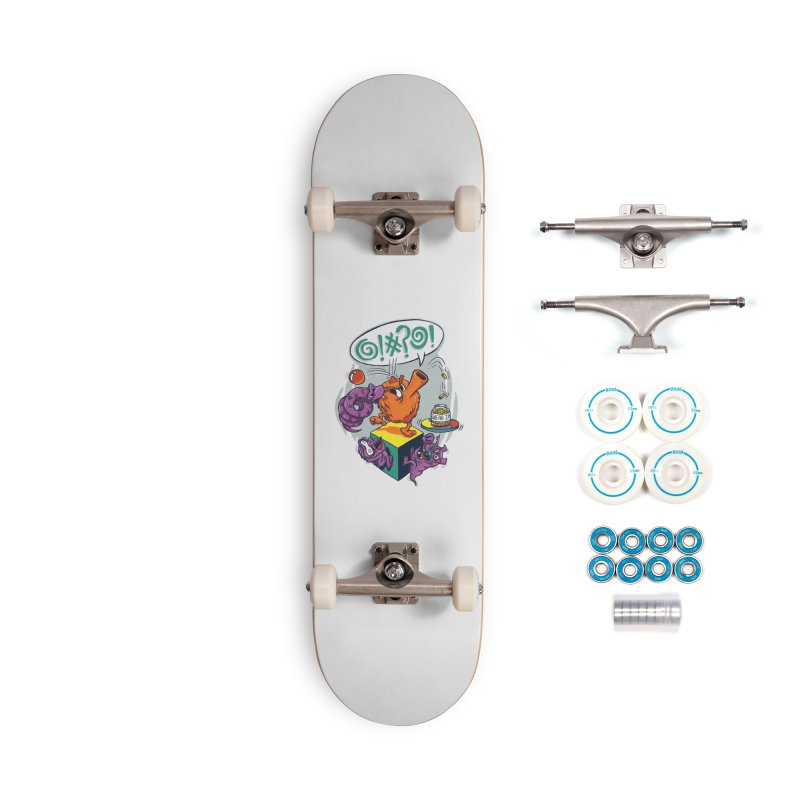 Quit Your Cussing! Accessories Complete - Basic Skateboard by Made With Awesome