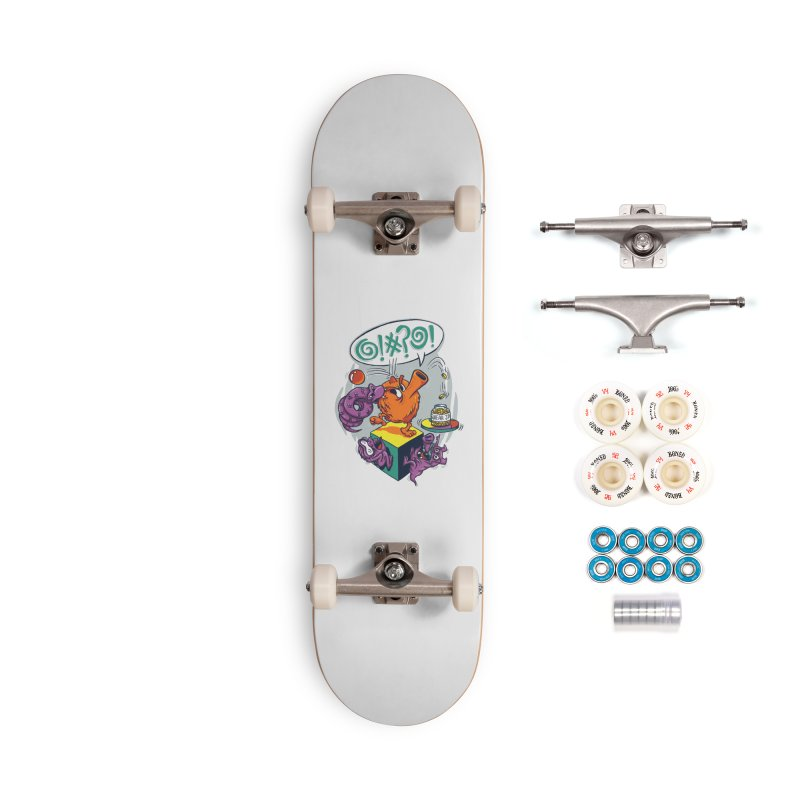Quit Your Cussing! Accessories Complete - Premium Skateboard by Made With Awesome