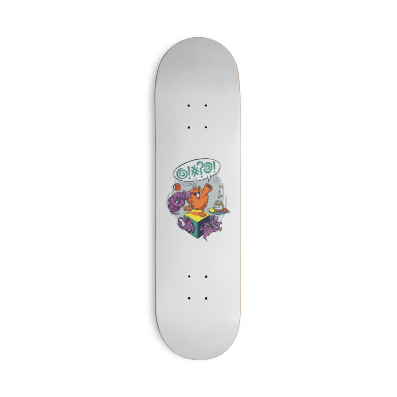 Quit Your Cussing! Accessories Deck Only Skateboard by Made With Awesome