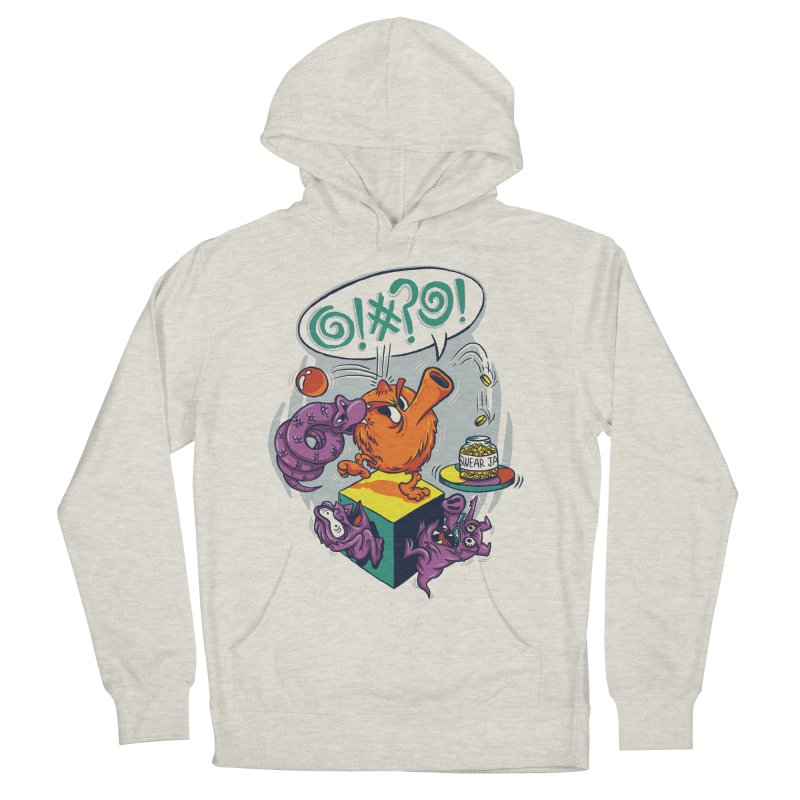 Quit Your Cussing! Men's French Terry Pullover Hoody by Made With Awesome