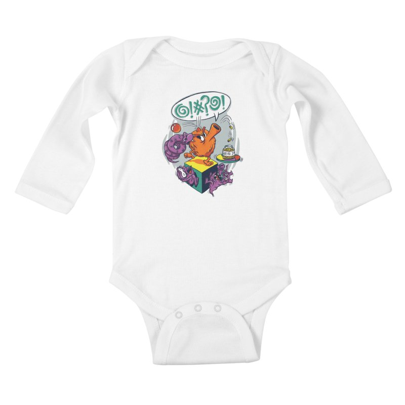 Quit Your Cussing! Kids Baby Longsleeve Bodysuit by Made With Awesome