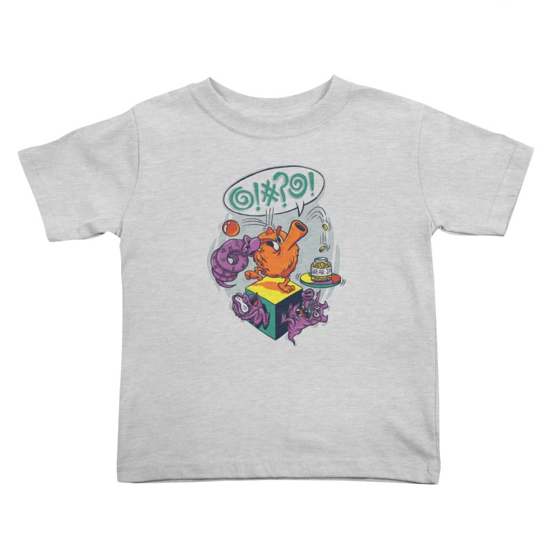 Quit Your Cussing! Kids Toddler T-Shirt by Made With Awesome