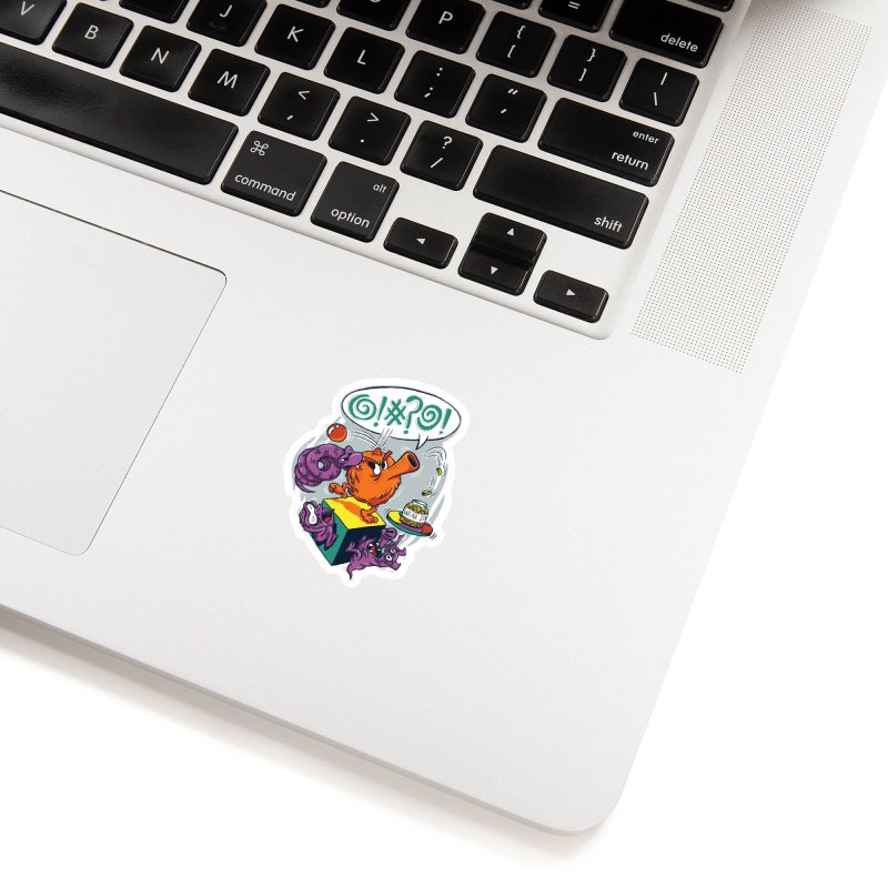 Quit Your Cussing! Accessories Sticker by Made With Awesome