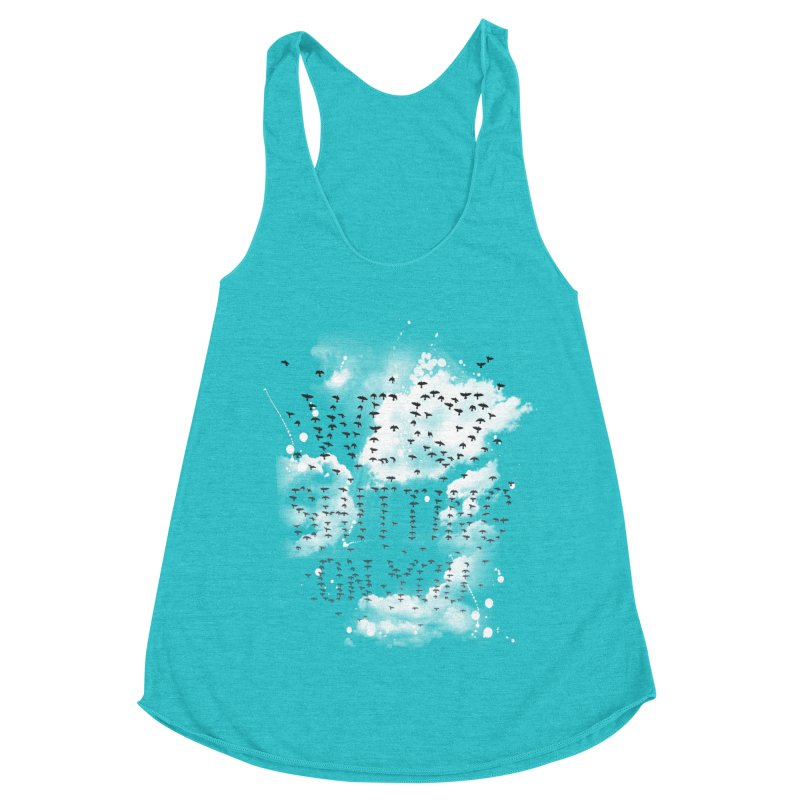 Call Of Doody Women's Racerback Triblend Tank by Made With Awesome