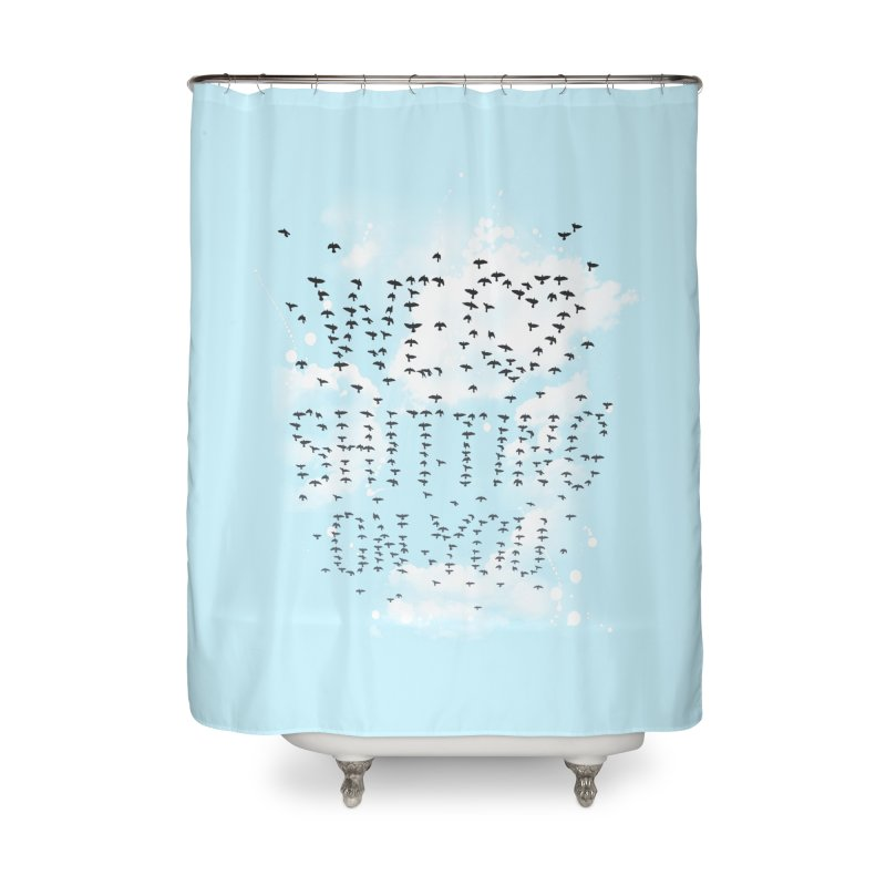 Call Of Doody Home Shower Curtain by Made With Awesome