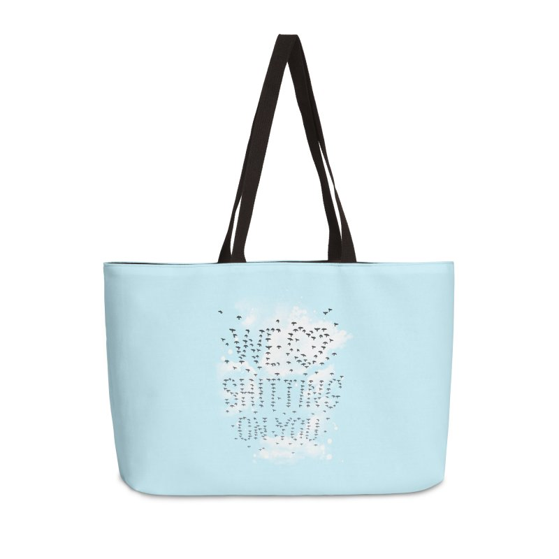 Call Of Doody Accessories Weekender Bag Bag by Made With Awesome
