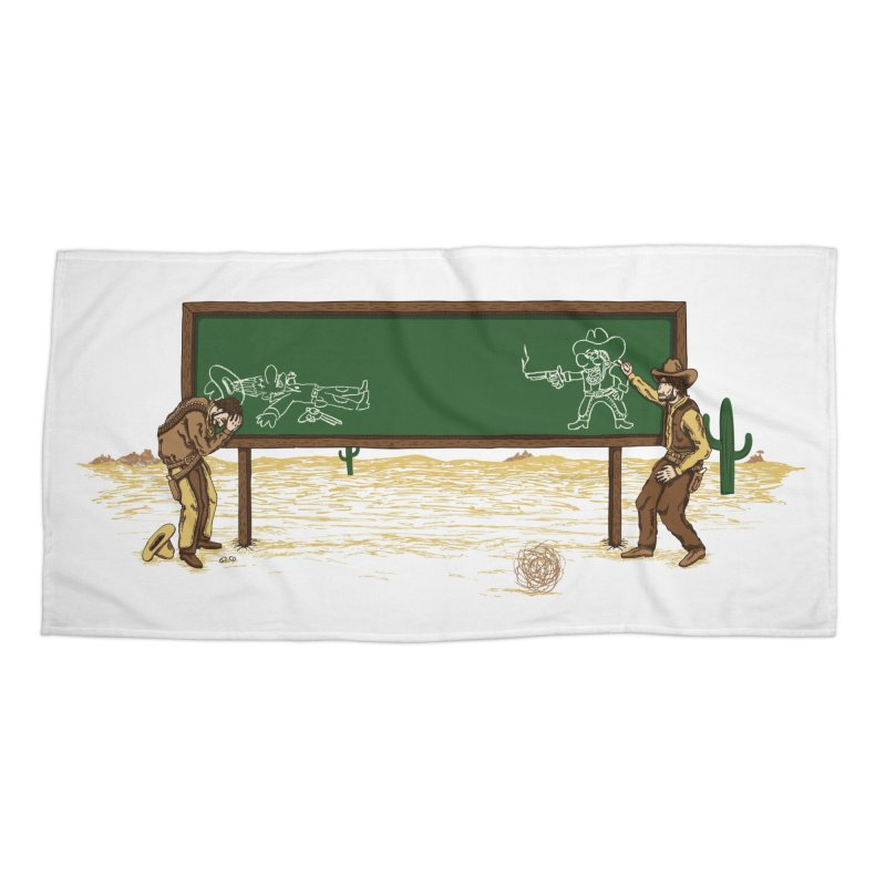 Quick Draw Accessories Beach Towel by Made With Awesome