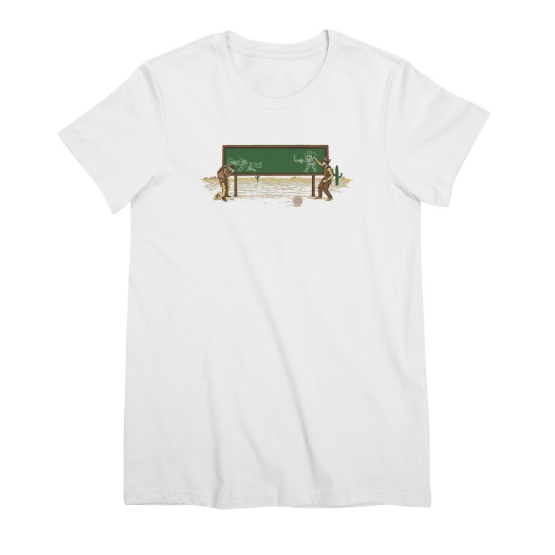 Quick Draw Women's Premium T-Shirt by Made With Awesome