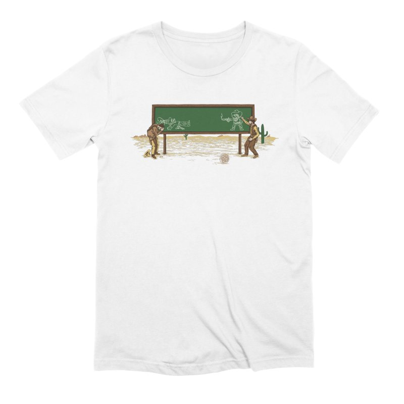 Quick Draw Men's Extra Soft T-Shirt by Made With Awesome