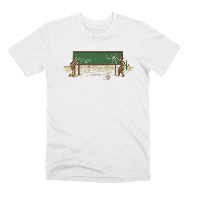 Quick Draw Men's Premium T-Shirt by Made With Awesome