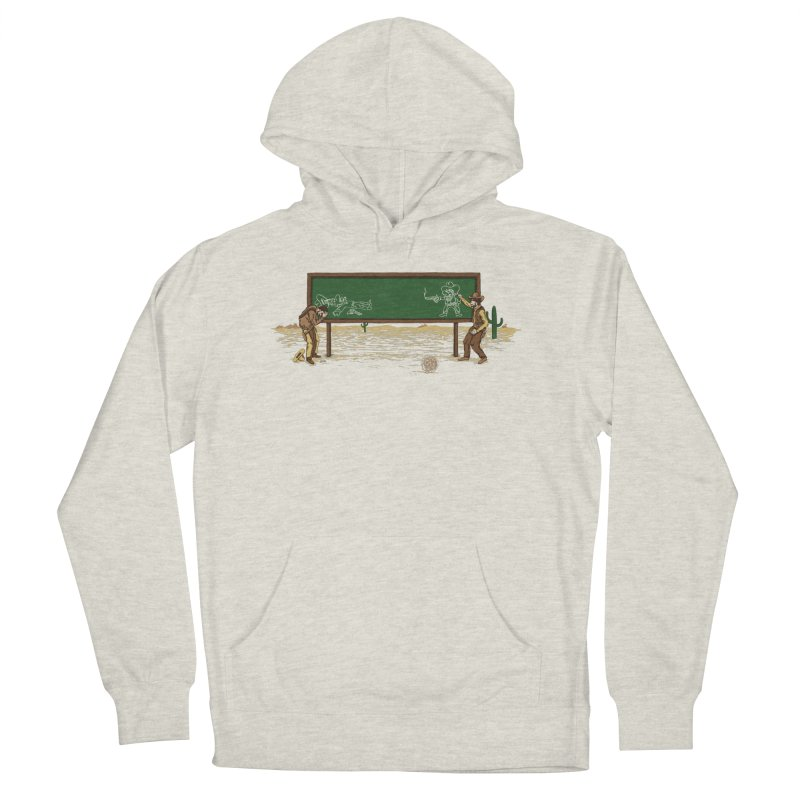 Quick Draw Men's French Terry Pullover Hoody by Made With Awesome