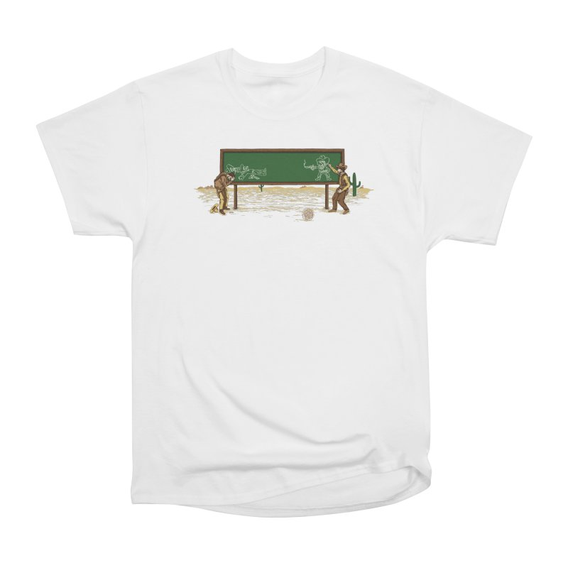 Quick Draw Men's Heavyweight T-Shirt by Made With Awesome