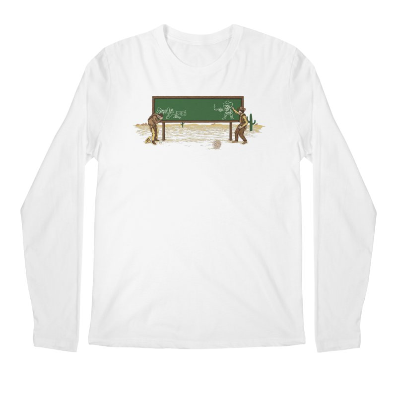 Quick Draw Men's Regular Longsleeve T-Shirt by Made With Awesome