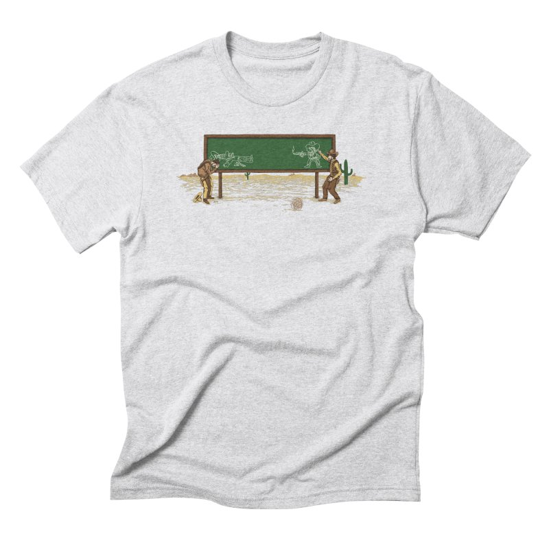 Quick Draw Men's Triblend T-Shirt by Made With Awesome
