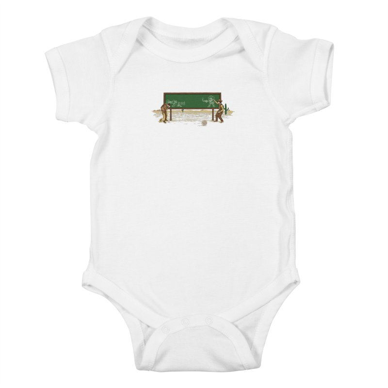 Quick Draw Kids Baby Bodysuit by Made With Awesome