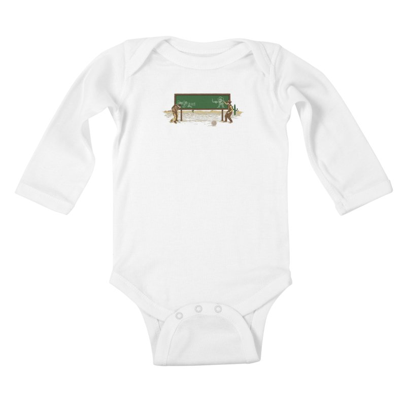 Quick Draw Kids Baby Longsleeve Bodysuit by Made With Awesome