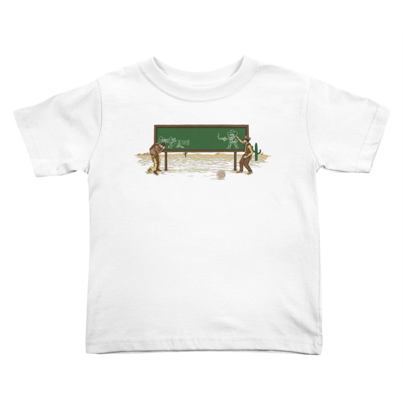 Quick Draw Kids Toddler T-Shirt by Made With Awesome