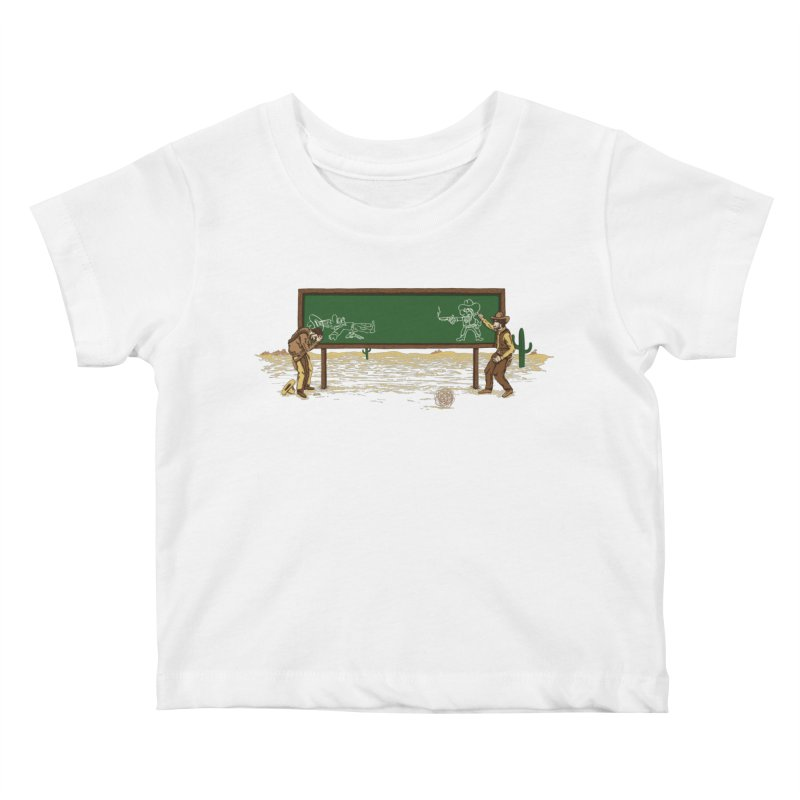 Quick Draw Kids Baby T-Shirt by Made With Awesome