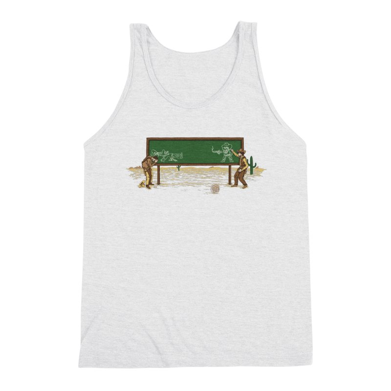 Quick Draw Men's Triblend Tank by Made With Awesome