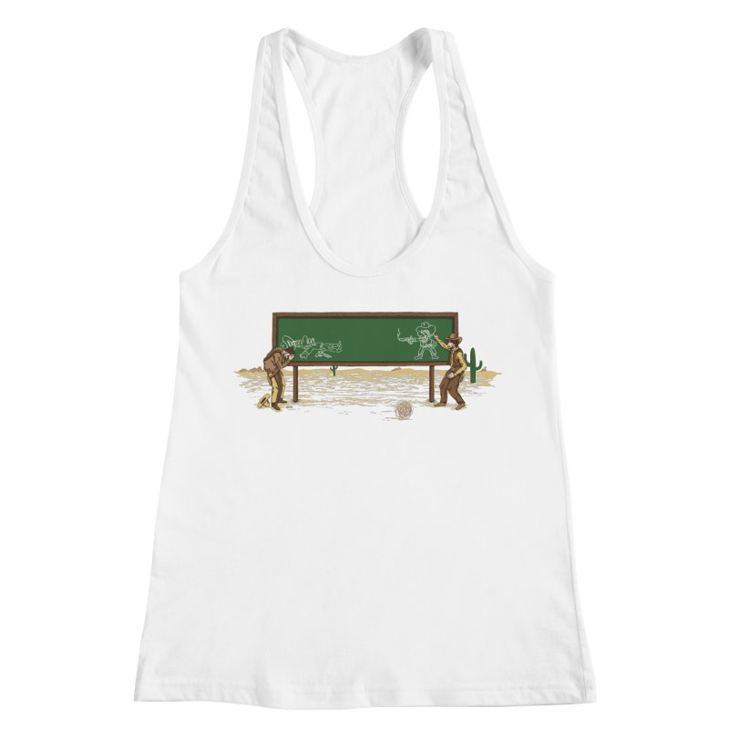 Quick Draw Women's Racerback Tank by Made With Awesome