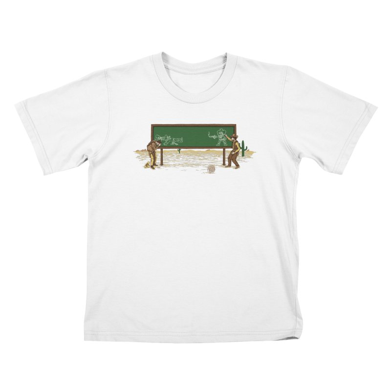 Quick Draw Kids T-Shirt by Made With Awesome