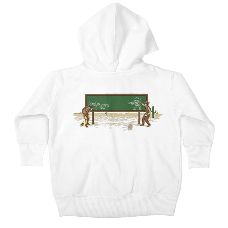 Quick Draw Kids Baby Zip-Up Hoody by Made With Awesome
