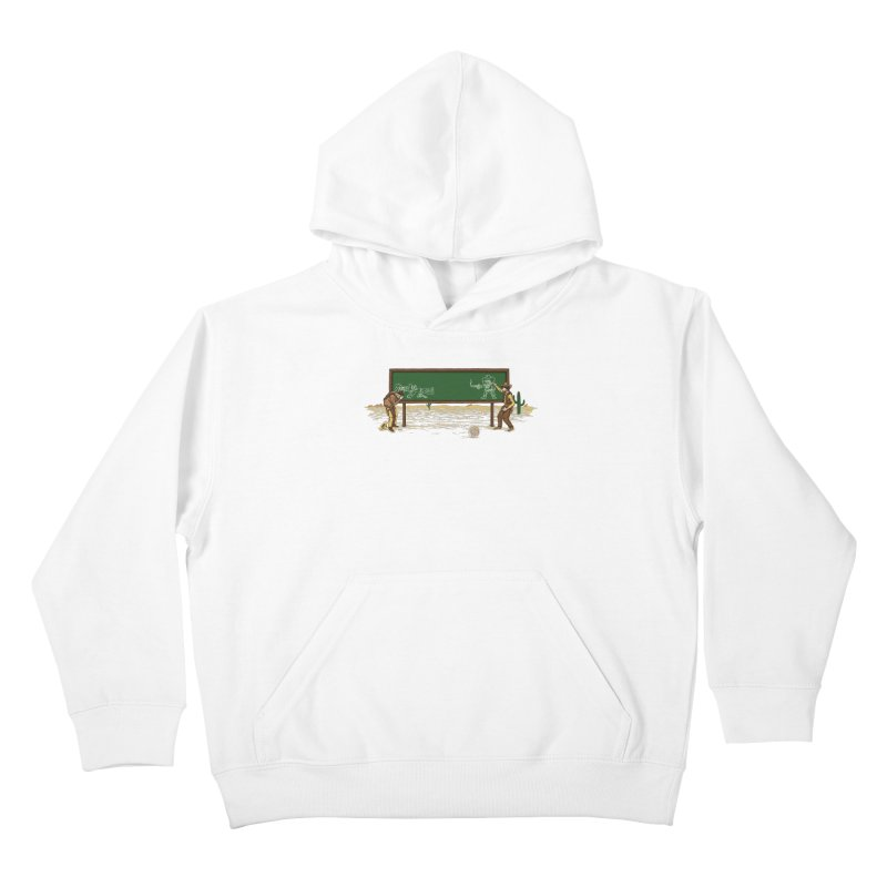 Quick Draw Kids Pullover Hoody by Made With Awesome