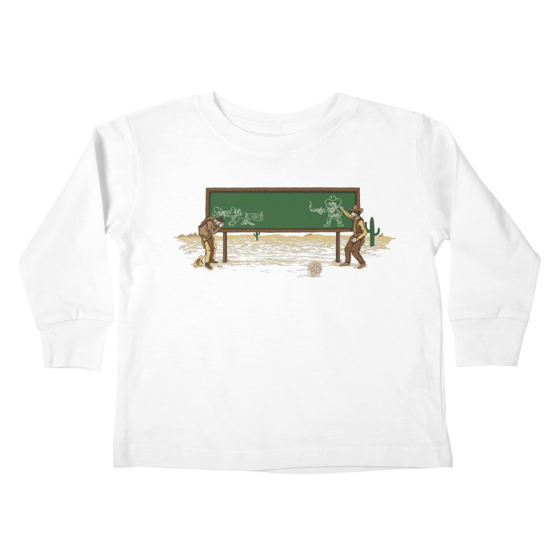 Quick Draw Kids Toddler Longsleeve T-Shirt by Made With Awesome