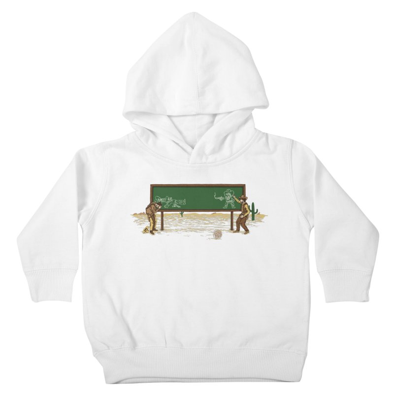 Quick Draw Kids Toddler Pullover Hoody by Made With Awesome