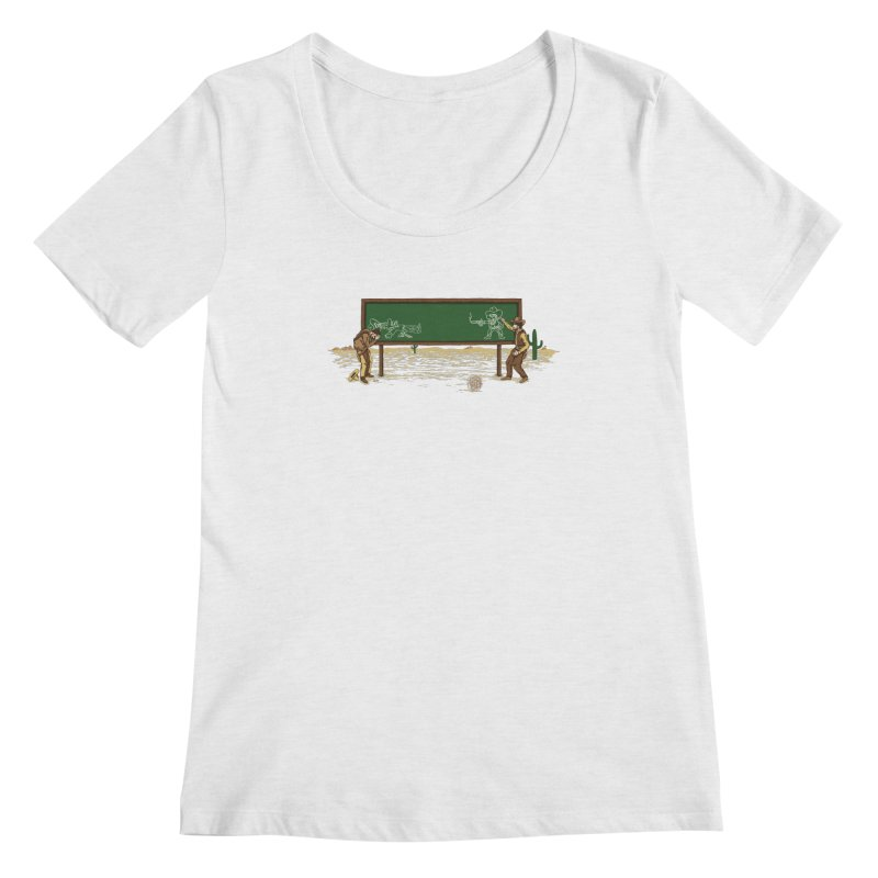Quick Draw Women's Regular Scoop Neck by Made With Awesome